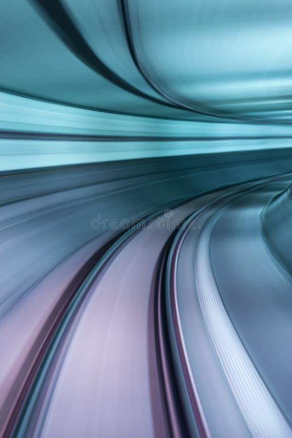 Тоннель NYC подземки стоковая фотография rf