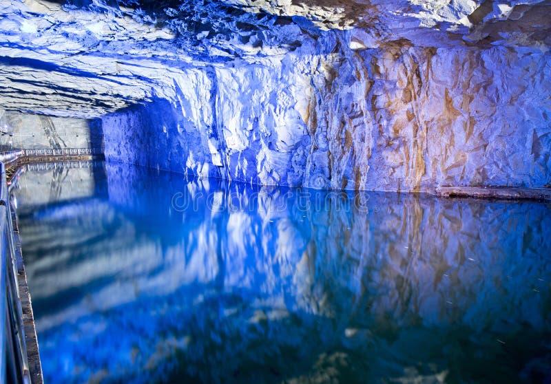 Тоннель Zhaishan национальныйа парк Тайваня Kinmen стоковая фотография