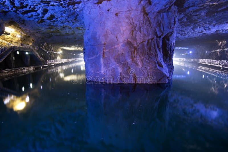 Тоннель Zhaishan национальныйа парк Тайваня Kinmen стоковые изображения