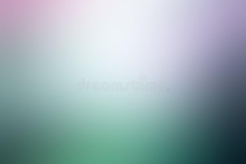 Тоны предпосылки градиента красочные абстрактные, голубых и зеленых пастельные стоковое фото