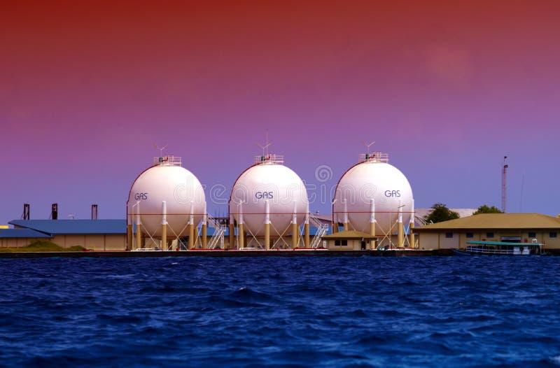 топливо контейнеров стоковое фото rf