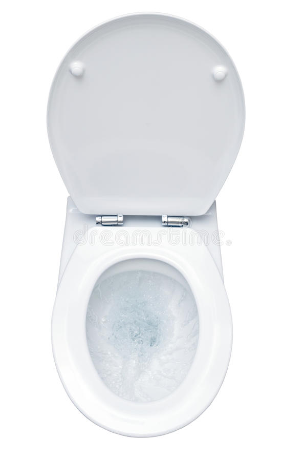 Топя туалет стоковые фотографии rf