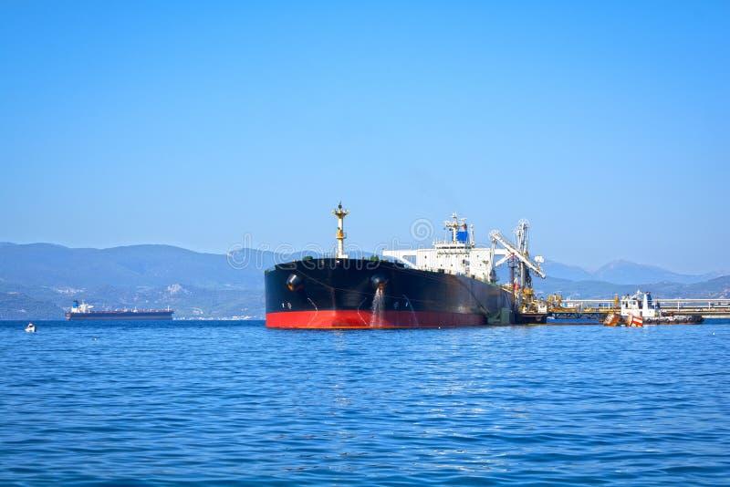 топливозаправщик корабля масла Германии kiel груза канала стоковые изображения rf