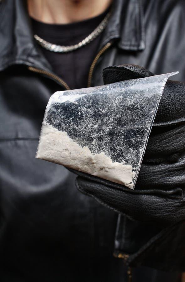 Торговец наркотикам стоковые изображения