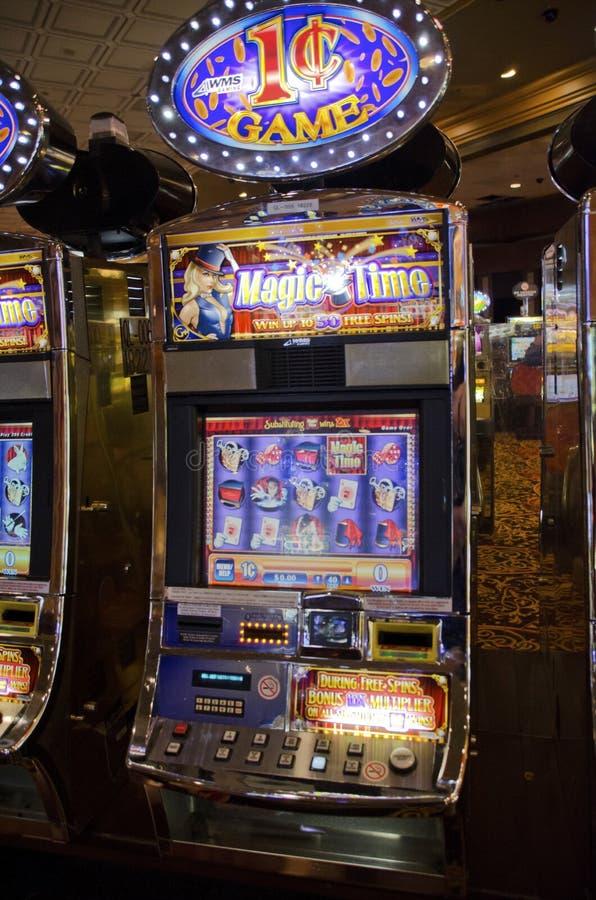 Торговые автоматы Атлантик-Сити козыря стоковые изображения