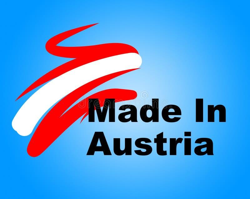 Торговые выставки Австрия Индустрия производства и Корпорация иллюстрация штока