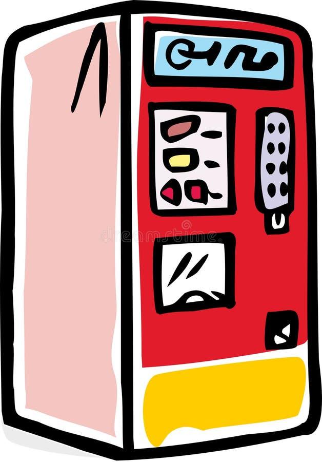 Торговый автомат иллюстрация вектора