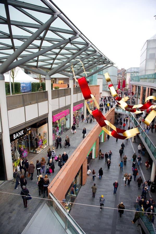 Торговый центр Джона Левиса в Ливерпуле стоковые фотографии rf
