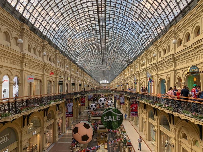 Торговый центр КАМЕДИ - Москва, Россия стоковая фотография rf
