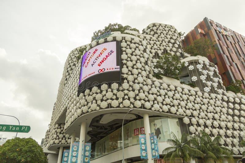 Торговый центр на Bugis в Сингапуре стоковая фотография