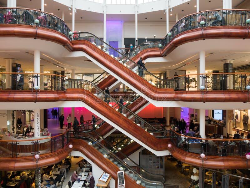 Торговый центр принцев Квадрата в Глазго стоковые фото