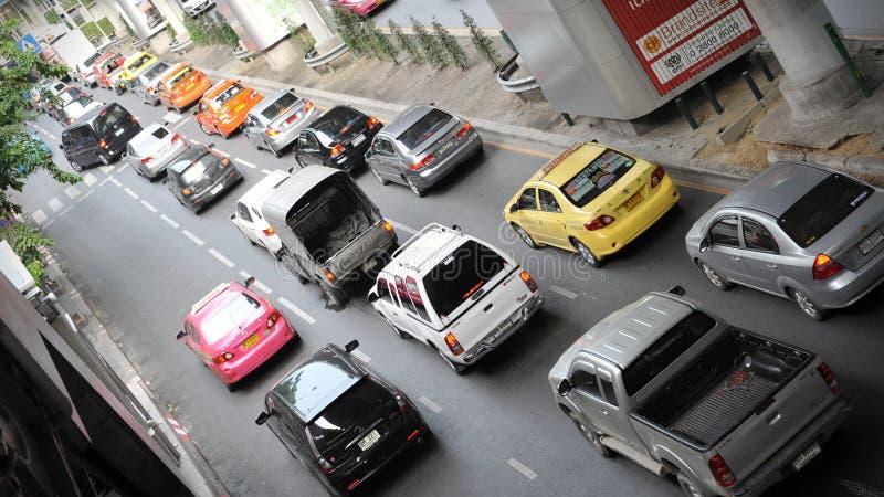 Торгуйте на многодельной дороге в Бангкок стоковое фото rf
