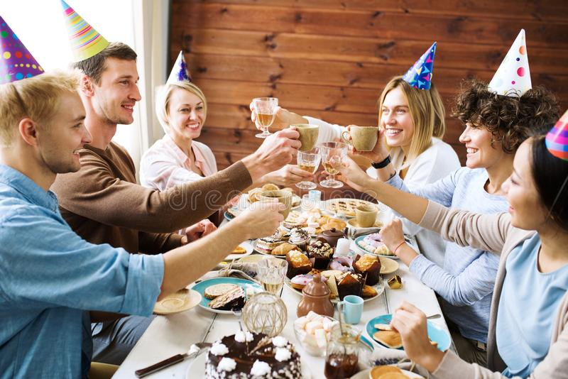 Торжество дня рождения стоковое изображение rf