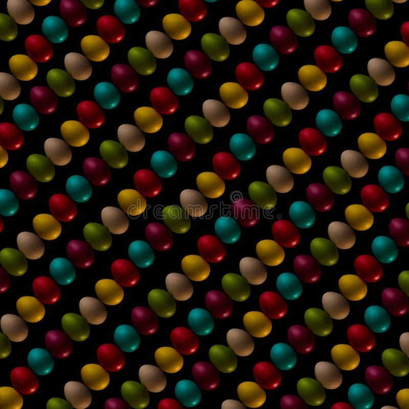 Торжество пасхальных яя, цвет, декоративный, дизайн, группа, праздник, объекты, красочные стоковая фотография rf