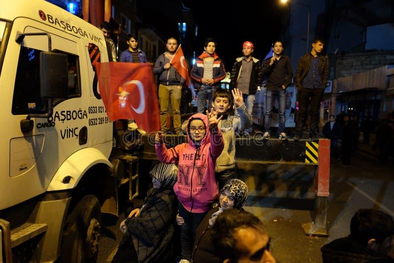 Торжество Турции референдума стоковые изображения