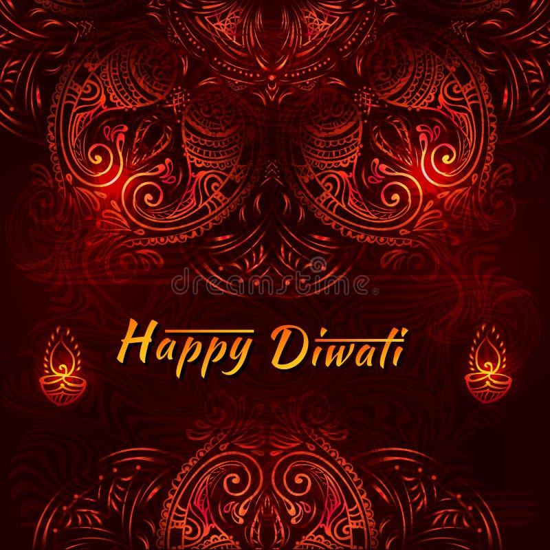 Торжество фестиваля Diwali бесплатная иллюстрация