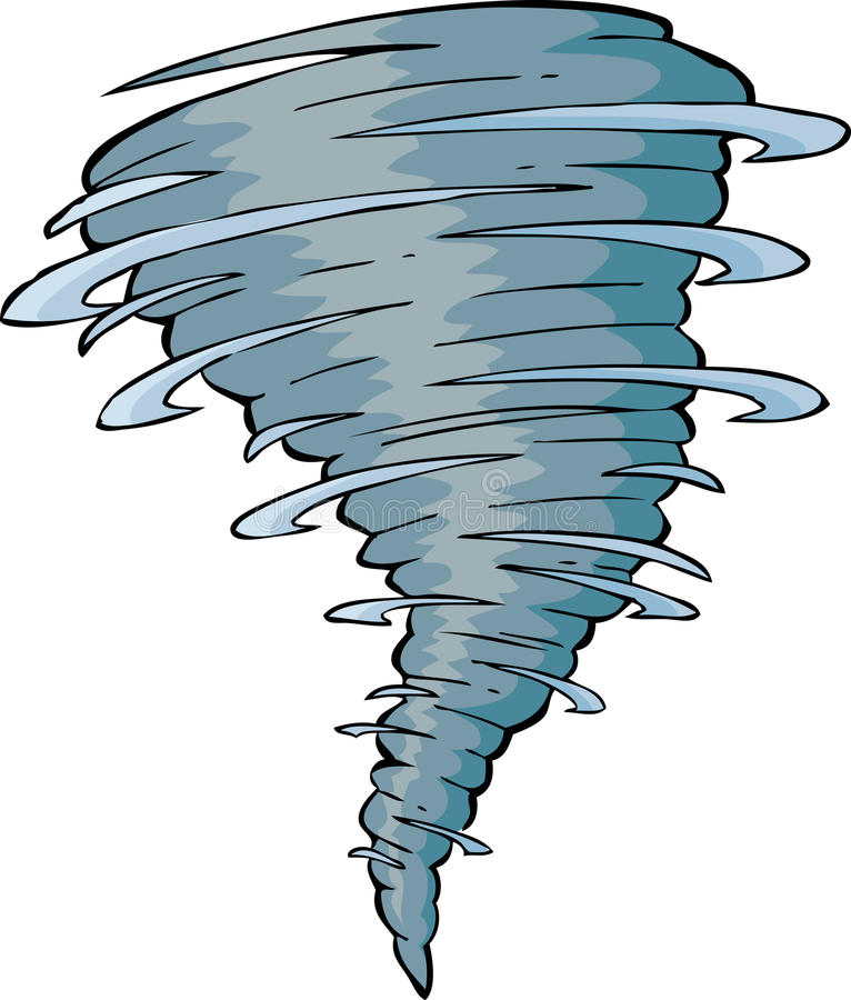 Торнадо иллюстрация штока