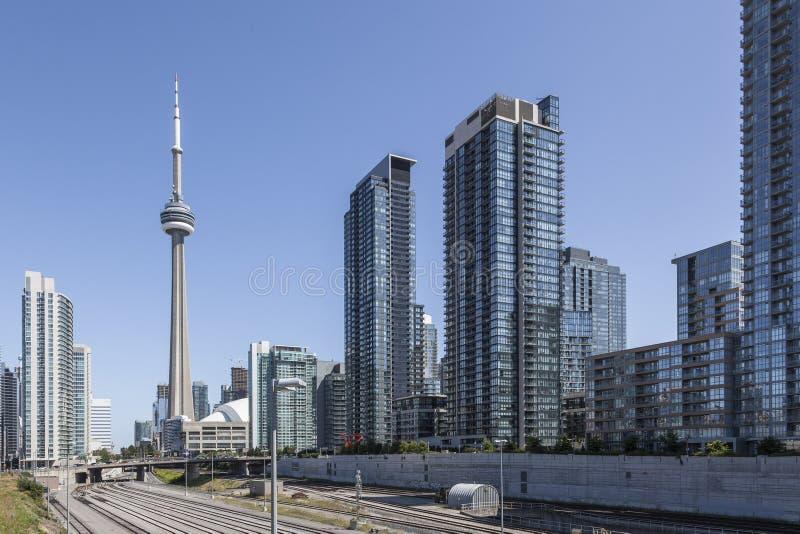 Торонто - современный и блестящий стоковые изображения