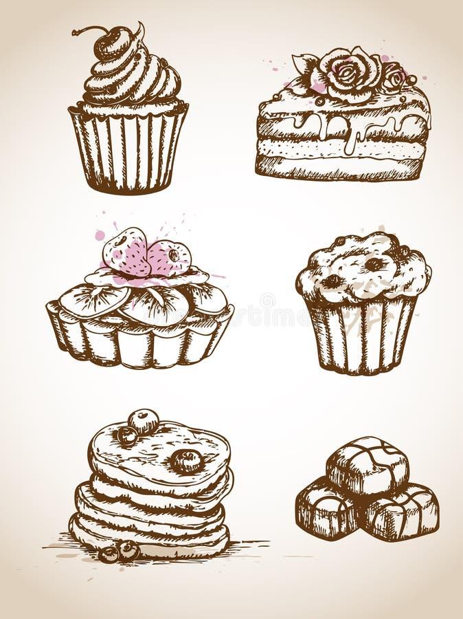 Нарисованные тарты