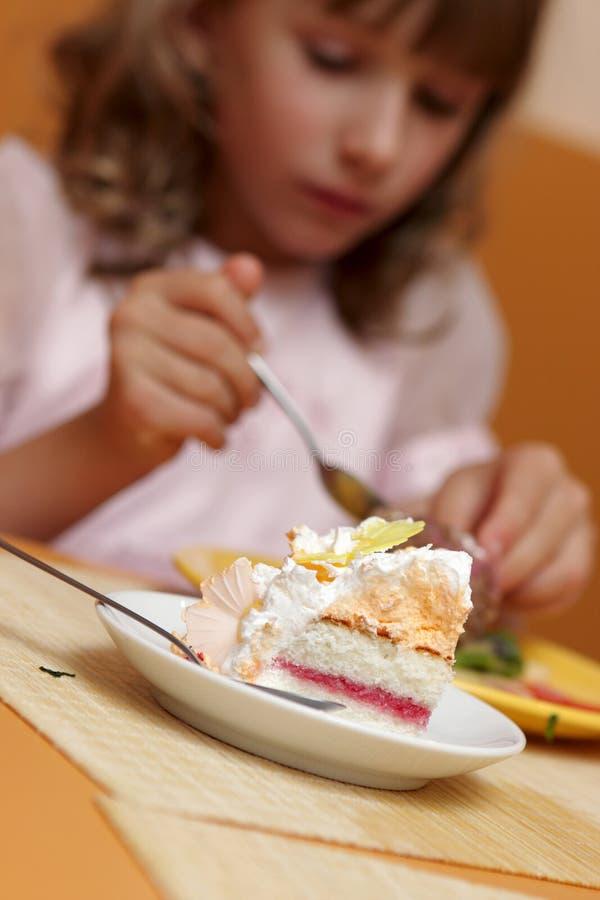 торт бита стоковое изображение