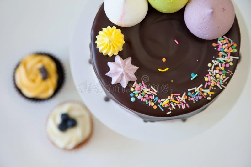 Торт Брайна стоковое фото rf