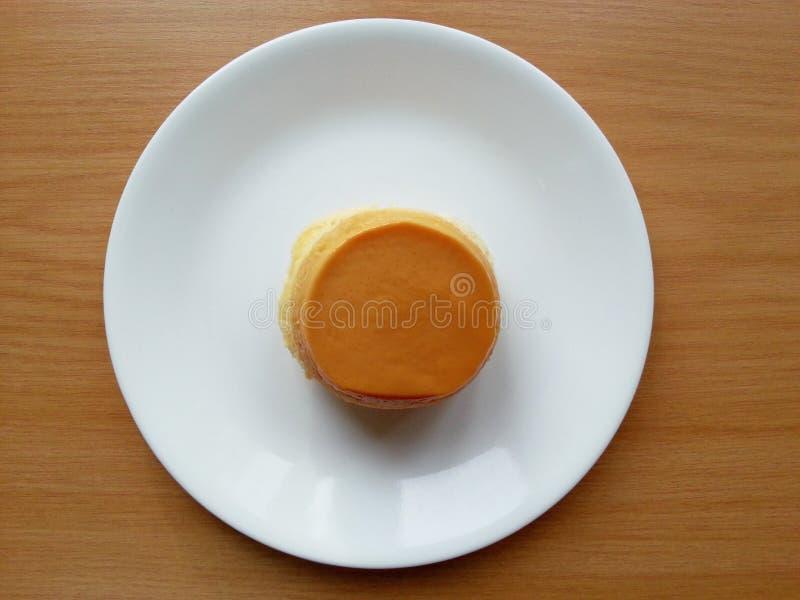 Торт заварного крема стоковая фотография rf