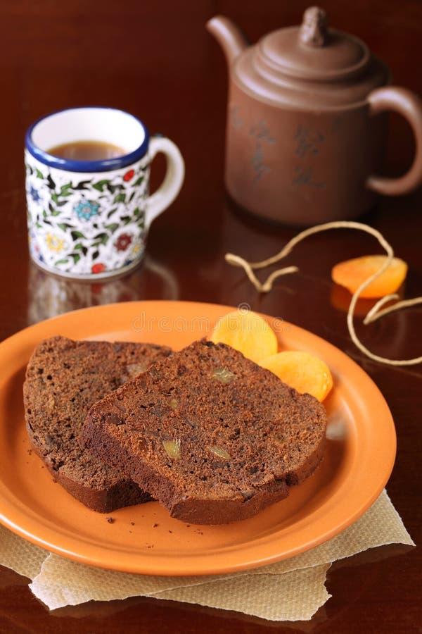 Торт имбиря шоколада стоковая фотография rf