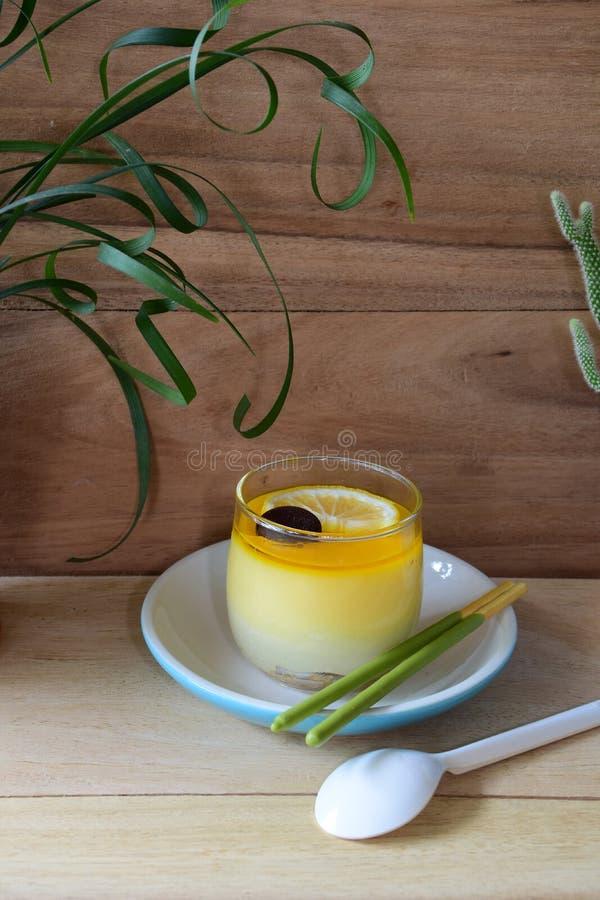 Торт лимона стоковое изображение