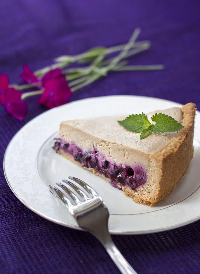 Download Торт кофе с голубиками стоковое фото. изображение насчитывающей домодельно - 41661210
