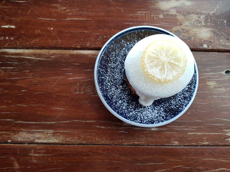 Торт лимона стоковые изображения rf