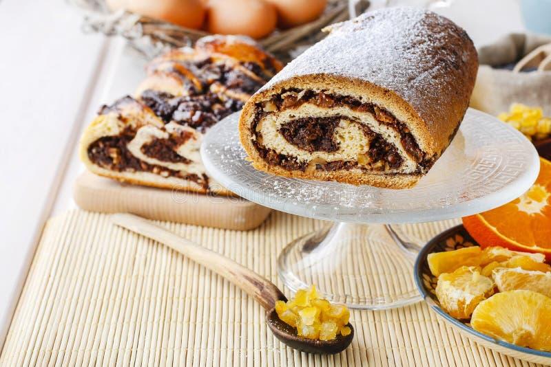 Торт макового семенени стоковое изображение
