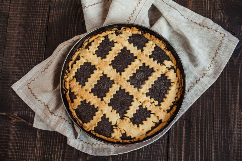 Торт макового семенени стоковое фото