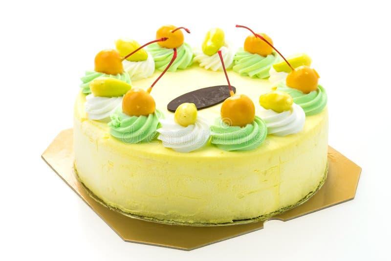 Торт манго мороженого стоковая фотография