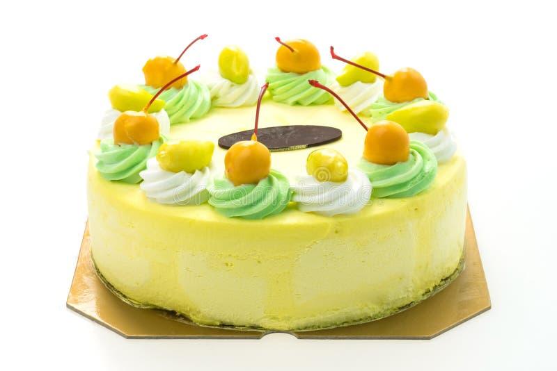 Торт манго мороженого стоковое фото rf