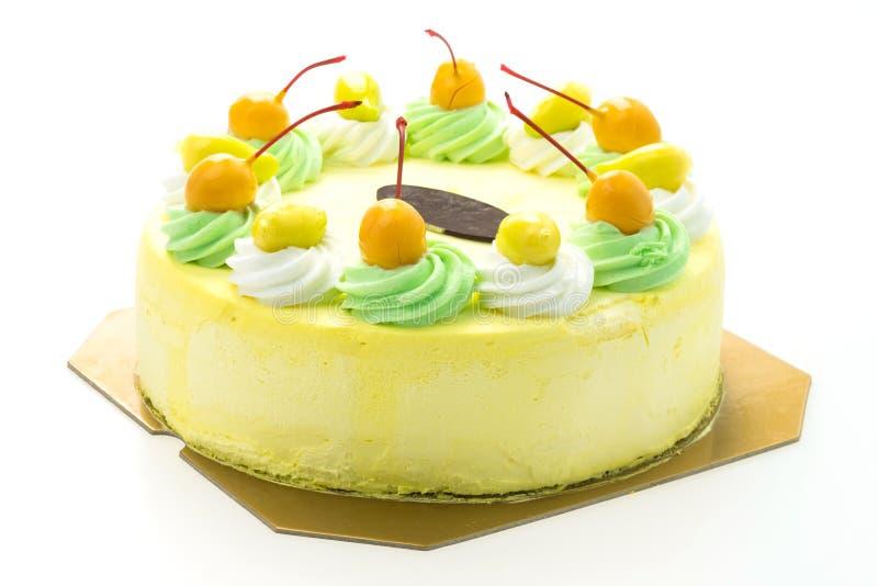Торт манго мороженого стоковое фото