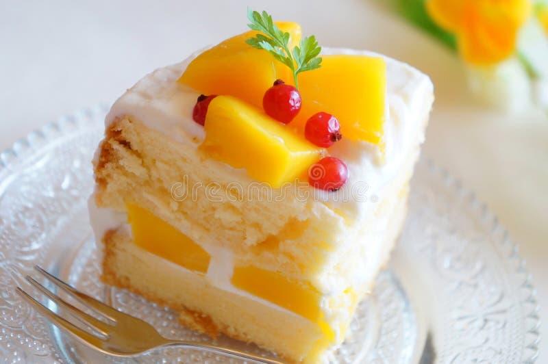 Торт манго стоковые фотографии rf