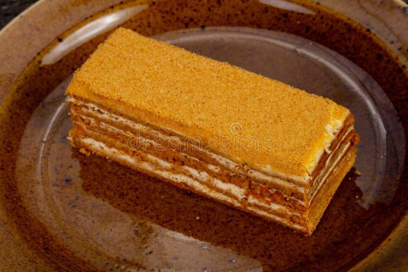 Торт меда Delicous стоковые изображения