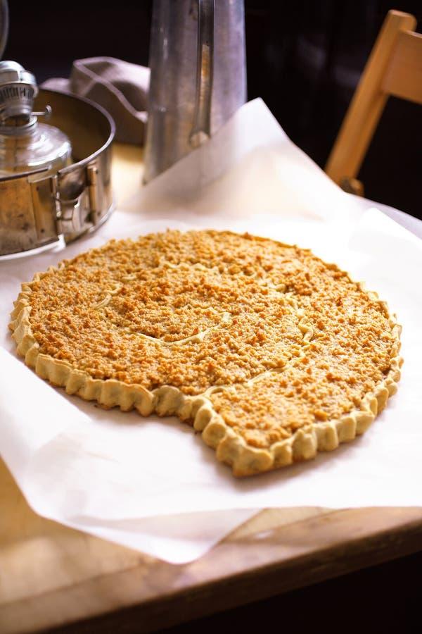 торт миндалины традиционный стоковое изображение