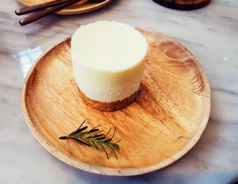 Торт молока стоковая фотография rf