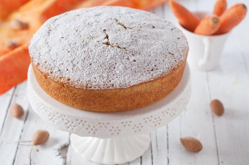 Торт моркови стоковые изображения rf