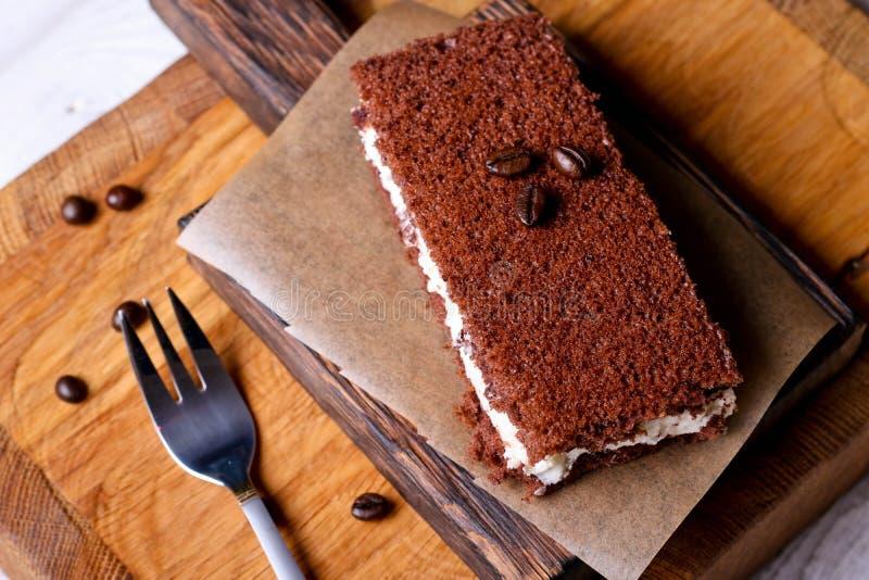Торт мусса шоколада стоковые фотографии rf