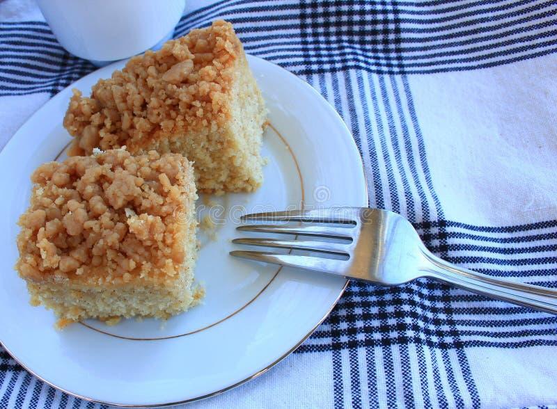 Торт мякиша кофе стоковые изображения rf