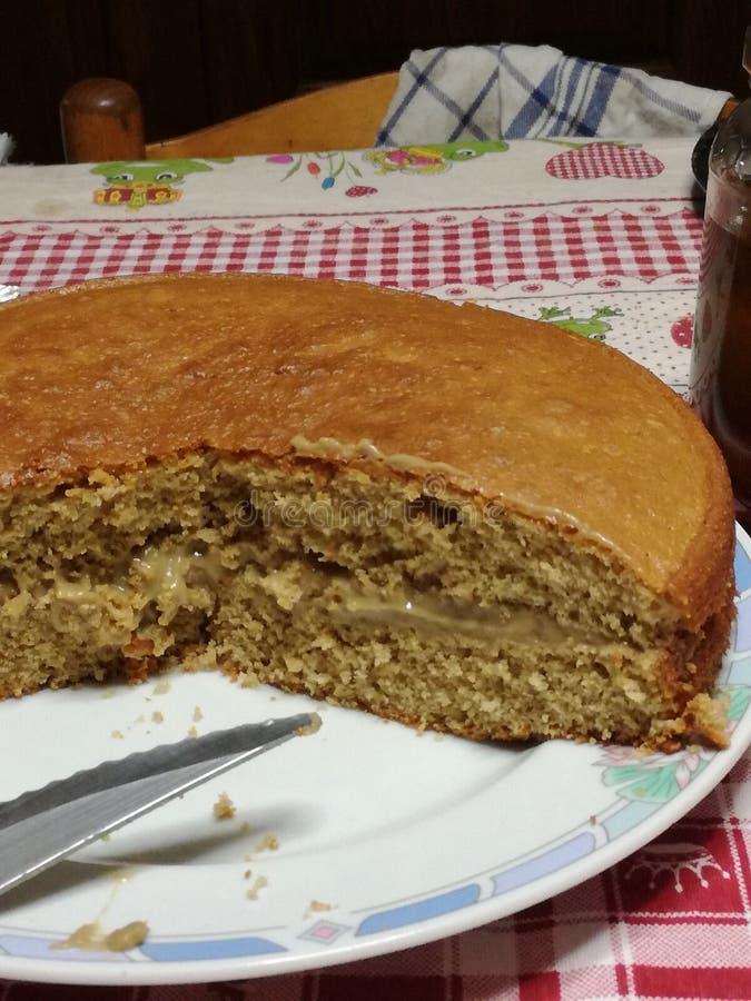 Торт на сделанный стоковое фото