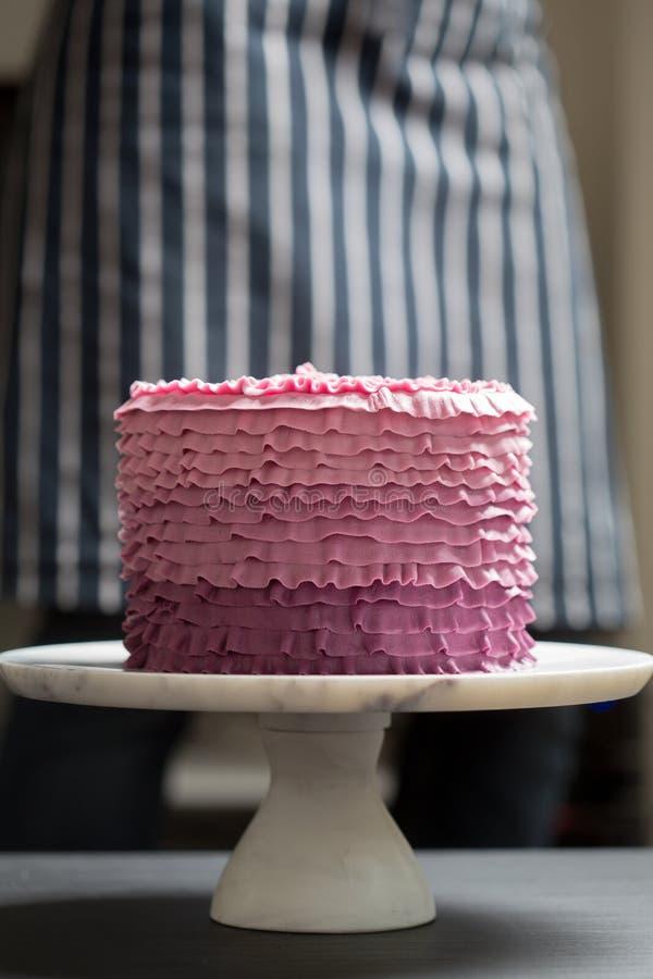 Торт на стойке стоковые фото