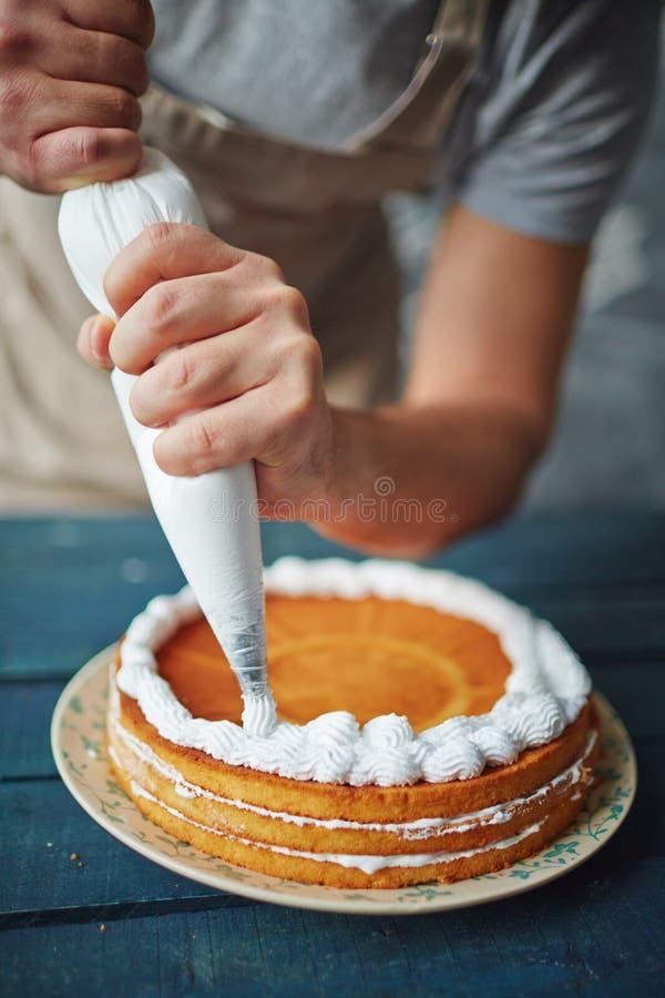 Торт печенья стоковые фотографии rf