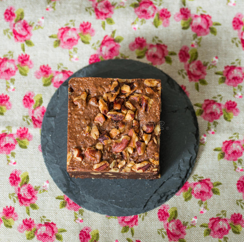 Торт пирожного шоколада стоковая фотография rf