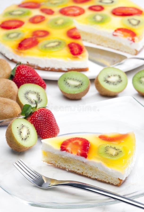 торт плода стоковое фото