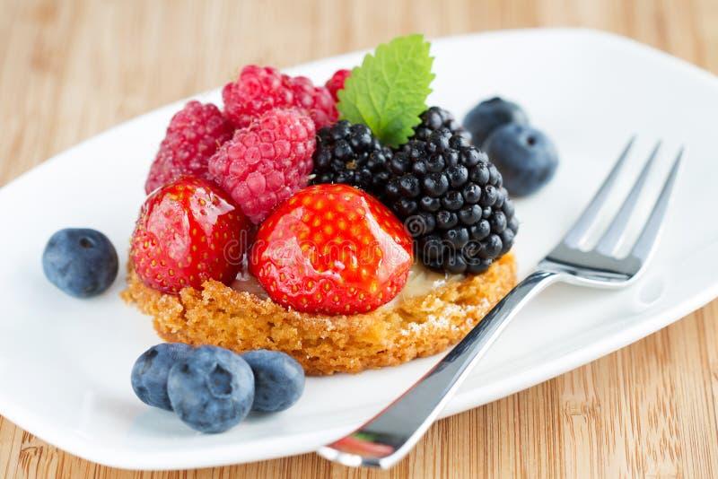 Торт плодоовощ стоковые изображения rf