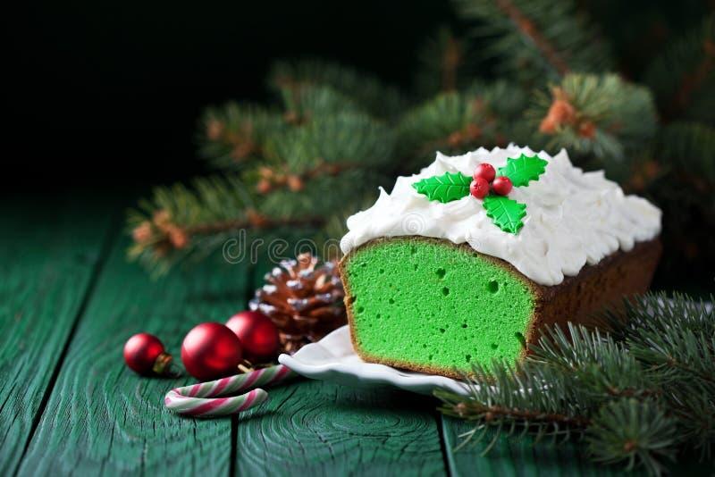 Торт рождества стоковые фотографии rf