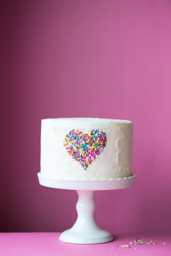 Торт сердца стоковое изображение rf